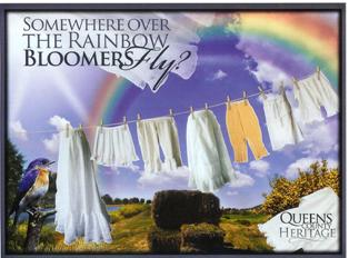 Somewhere Over the Rainbow…Bloomers Fly? By Queens County Heritage